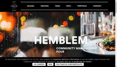 Site internet de Hemblem
