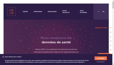 Site internet de Heva