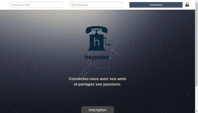 Site internet de Heypster