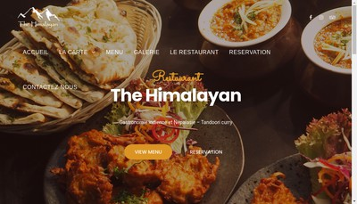 Site internet de The Himalayan