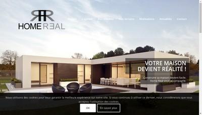 Site internet de Home Real