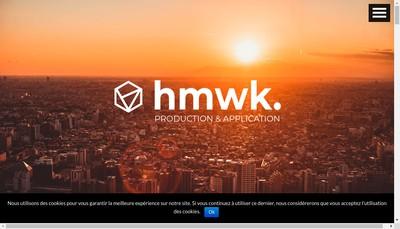 Site internet de Hmwk Production & Application
