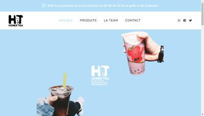 Site internet de Hones'Tea