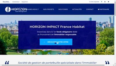 Site internet de Horizon Asset Management