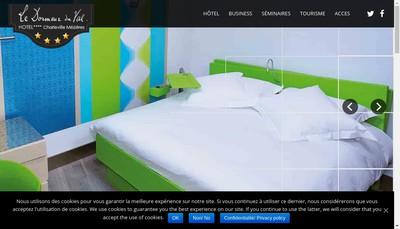 Site internet de Le Dormeur du Val