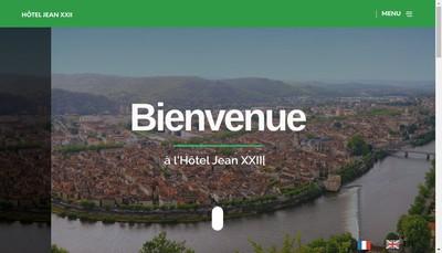 Site internet de Hotel Jean Xxii