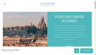 Site internet de Josephine Blanche