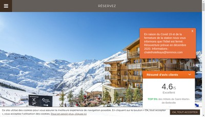 Site internet de Chalet Hotel Kaya