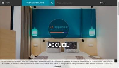 Site internet de Hotel la Regence