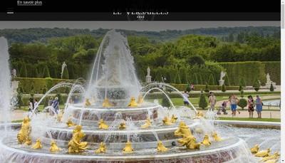 Site internet de Hotel le Versailles