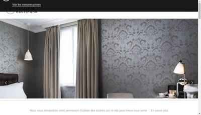 Site internet de Hotel Madeleine Haussmann
