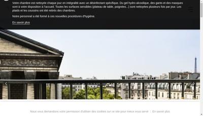 Site internet de Hotel Madeleine Plaza
