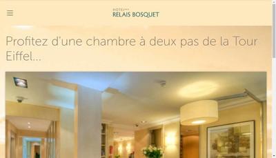 Site internet de Relais Bosquet