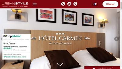 Site internet de Hotel Carmin