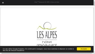 Site internet de Les Alpes