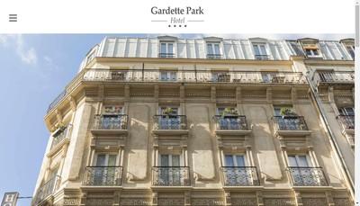 Site internet de Garden Hotel