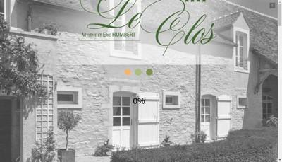Site internet de Hotel le Clos