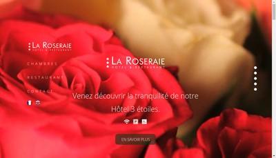 Site internet de SA Hotel la Roseraie