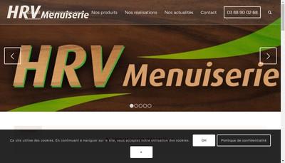 Site internet de Hrv Menuiserie