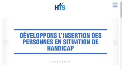 Site internet de Handicap Travail Solidarite