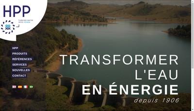 Site internet de Hydro Power Plant
