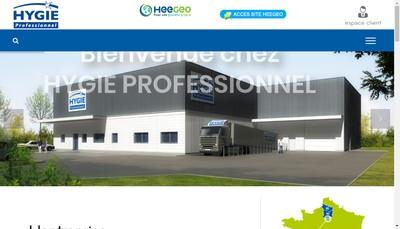 Site internet de Hygie Professionnel