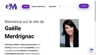 Site internet de Gaelle Merdrignac