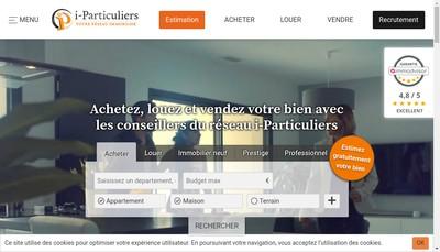 Site internet de I-P@Rticuliers