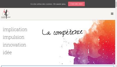 Site internet de I4 Formation Conseil