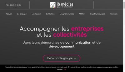 Site internet de Ib-Medias