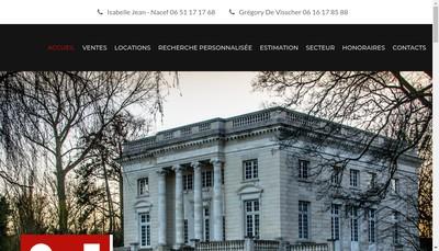 Site internet de Id Immobilier