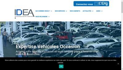 Site internet de Idea Vienne