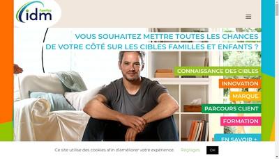 Site internet de Idm Families