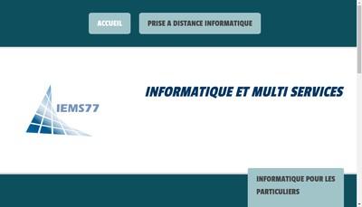 Site internet de Iems77