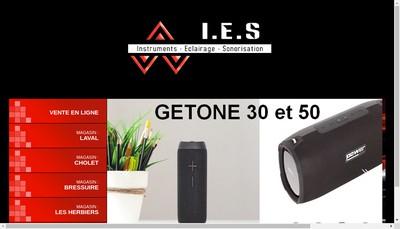 Site internet de IES Cholet
