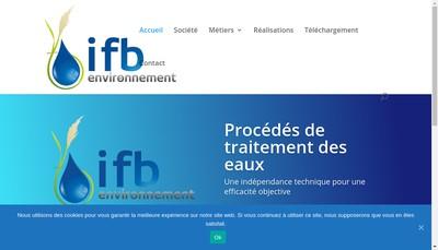 Site internet de Ifb Environnement