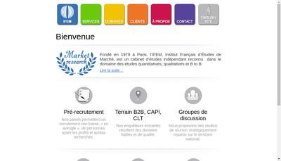 Site internet de Ifem