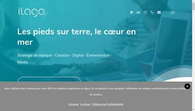 Site internet de Ilago