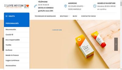 Site internet de Opaltex