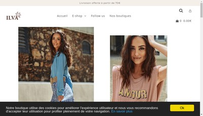 Site internet de Ilva