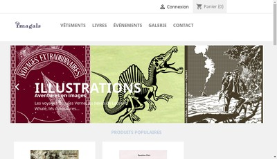 Site internet de Imagals