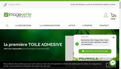 Site internet de L'Image Verte