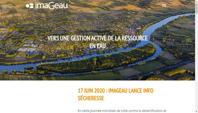 Site internet de Imageau