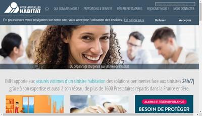 Site internet de Inter Mutuelles Habitat