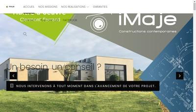 Site internet de Imaje Construction