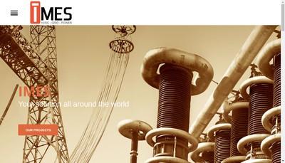 Site internet de Imes Group