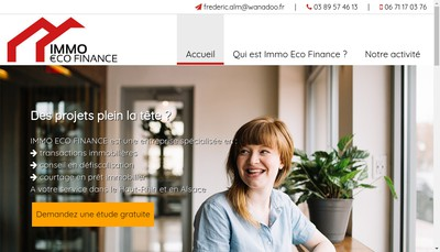 Site internet de Eco Finance