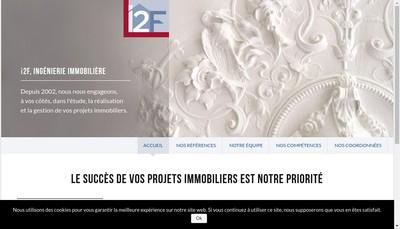 Site internet de I2F