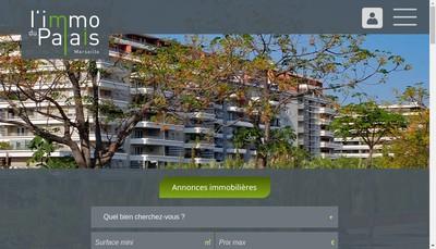 Site internet de L'Immo du Palais