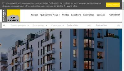 Site internet de Scope Gestion